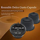 Comprar BRBHOM Refillable Dolce Gusto Coffee Capsule Reusable Dolce Gusto Coffee Filter ,with Coffee Spoon,Brush en Amazon
