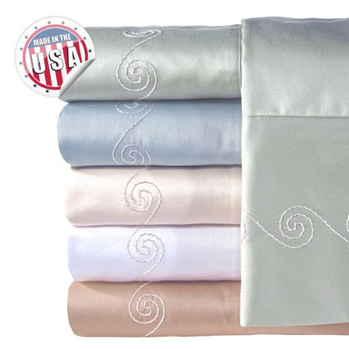 Veratex Indoor Bedroom Mattress Cover 30 - 300tc Swirl Sheet Set Shopping Results