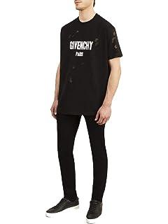 29af2006 Givenchy Paris Destroyed T-Shirt, Pink (XXSmall): Amazon.co.uk: Clothing