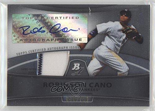 (Robinson Cano #/740 (Baseball Card) 2010 Bowman Platinum - Autographed Relic Refractor #PAR-RC)