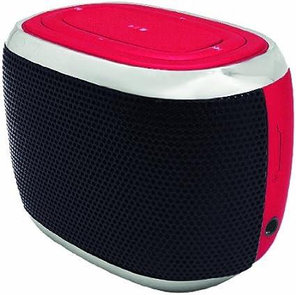 Hype Mini Capsule Bluetooth Speaker- RED