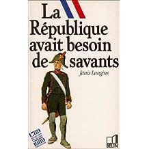 REPUBLIQUE AVAIT BESOIN D