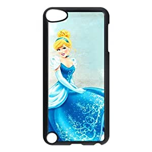 Cinderella ipod 5 Case Customized Hard Plastic Cover Case fits iPod Touch 5th ipod5-linda922