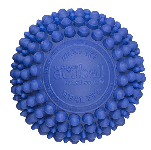 Deep Tissue Massage Ball - Dr. Cohen's Heatable acuBall for Muscle Stress & Pain