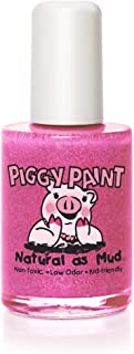 product image for Piggy Paint 100% Non-toxic Girls Nail Polish - Safe, Chemical Free Low Odor for Kids, Tickled Pink - Great Stocking Stuffer for Kids