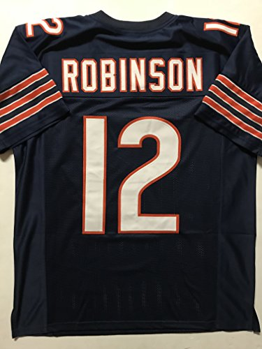 Unsigned Allen Robinson Chicago Blue Custom Stitched Football Jersey Size Men's XL New No Brands/Logos