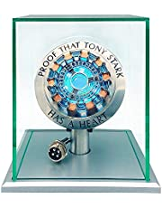 1:1 Iron Man Arc Reactor MK1,DIY USB Finished Product ,Vibration Sensing,LED Light,USB Interface,No Assembly Required,no Remote Control Required,Gift(with Display Case)