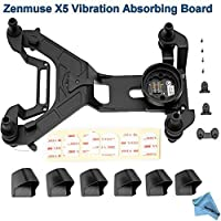 DJI Vibration Absorbing Board for Zenmuse X5/X5R Camera/Gimbal w/ eDigitalUSA Microfiber Cleaning Cloth