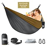 No matter you are searching for indoor hammock or outdoor hammock for hanging or sleeping, HODGSON Camping Hammock is your best choice. Perfectly perform in wide occasions and set up easily. HODGSON Camping Hammock adopted adjustable looped hammock s...