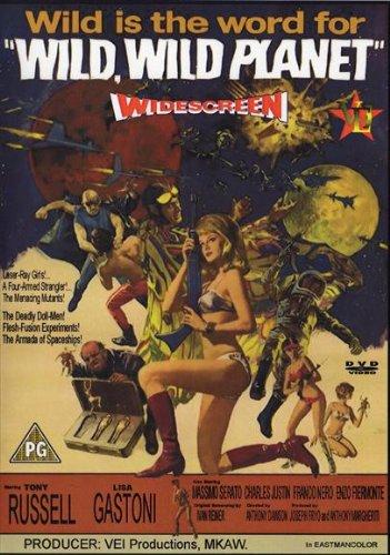 (Wild Wild Planet Poster Movie B 11x17 Tony Russell Lisa Gastoni Massimo Serato Franco Nero)