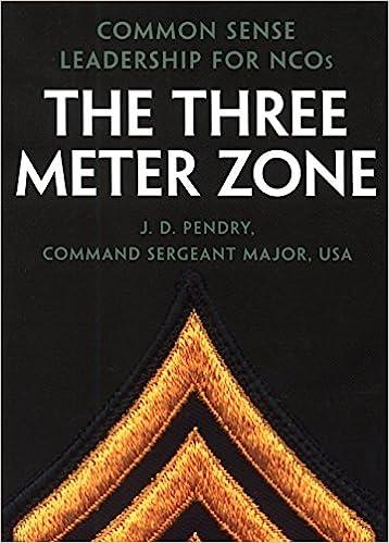 amazon com the three meter zone common sense leadership for ncos