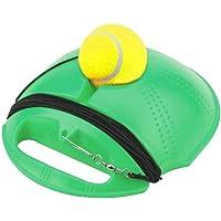 Entrenador de Tenis Rebounder Ball Práctica de Tenis Herramienta de Entrenamiento Ejercicio Deportivo Base de Tenis Entrenador de Swing de Tenis Individual