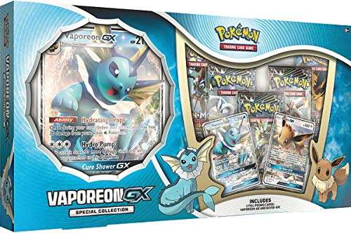 - Pokemon TCG: Vaporeon-GX Special Collection