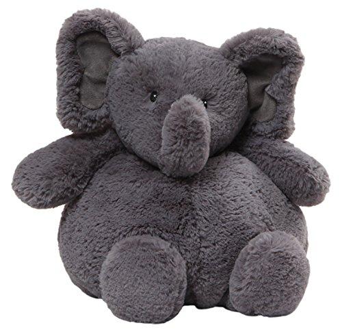 Baby GUND Chub Elephant Stuffed Animal Plush, Dark Gray, (Baby Gund Elephant)