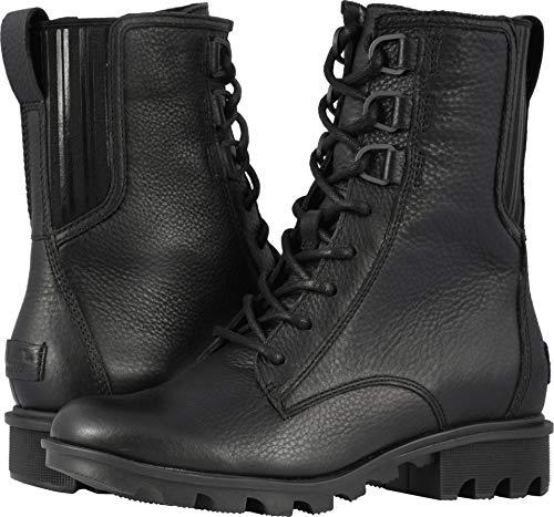 SOREL Women's Phoenix¿ Lace Black Full Grain Leather 11 B US -