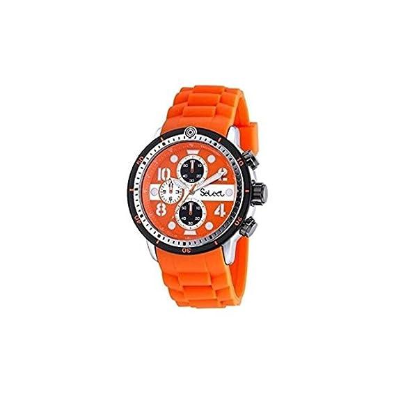 Reloj Select TE-47-07 DEPORTIVO NARANJA