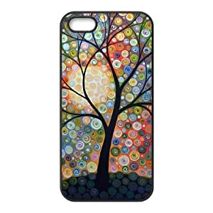 DIY Phone Case for Iphone 5,5S, Abstract Painting Cover Case - HL-R640521