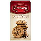 Archway Cookies, Soft Oatmeal Raisin, 9.25 Ounce (Pack of 9)