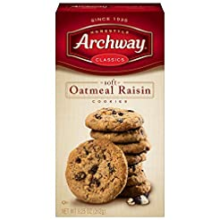 Archway Cookies, Soft Oatmeal Raisin, 9....