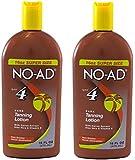 NO-AD Dark Tanning Lotion, SPF 4, 16 Oz