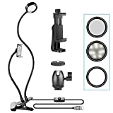 Best NEEWER Table Lamps - Neewer 3-Level Brightness Selfie Ring Light with Smartphone Review