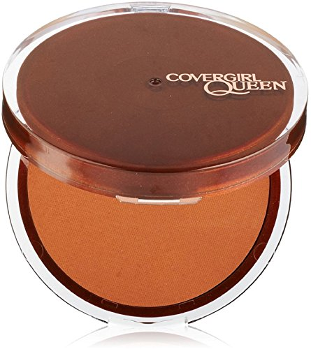CoverGirl Queen Collection Lasting Matte Pressed Powder, Medium Deep [Q425] 0.37 oz
