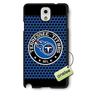 Personalize NFL Tennessee Titans Team Logo Frosted For Case Iphone 6 4.7inch Cover Black - Black