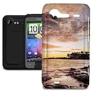 Phone Case For HTC Incredible S - Sunset Coast Designer Lightweight wangjiang maoyi