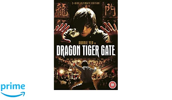 Dragon Tiger Gate - 2 Disc Ultimate Edition DVD Reino Unido: Amazon.es: Donnie Yen, Nicholas Tse, Shawn Yue: Cine y Series TV