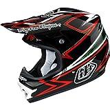 Troy Lee Designs Charge Air Off-Road Motorcycle Helmet - Black/Red/Small