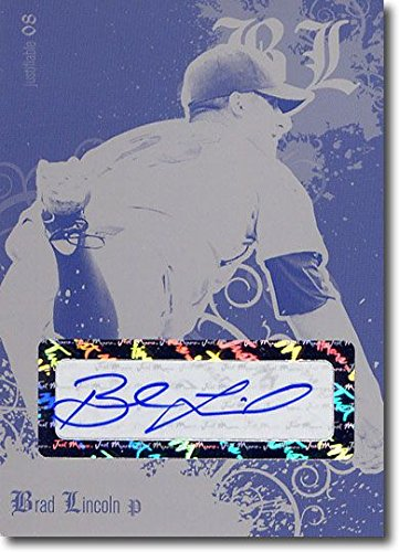 2008 Brad Lincoln Autograph Rookie Auto Press Plate RC 1/1 ()