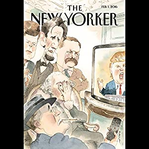 The New Yorker, February 1st 2016 (Ryan Lizza, Jon Lee Anderson, Nathan Heller) Periodical
