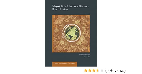 amazon com mayo clinic infectious diseases board review mayo