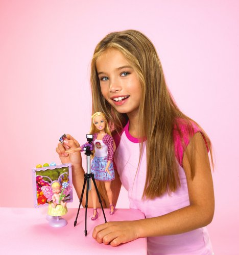 barbie i can be baby photographer playset   playset toys
