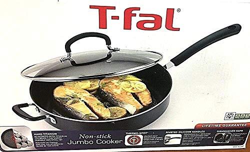 T-Fal Culinaire 5 Qt. Covered Jumbo Fry Pan