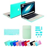 Se7enline Macbook Air 13 inch Accessories 5 in 1 Bundle Soft-Touch Plastic Hard Case Cover for Macbook Air 13