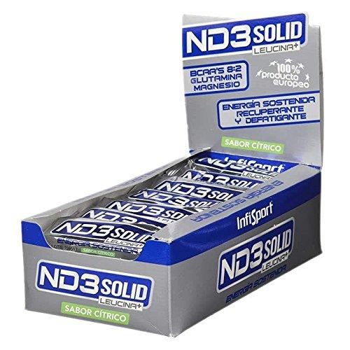 Infisport ND3 Solido - 21 barritas x 40 gr Cítrico (con cafeína)