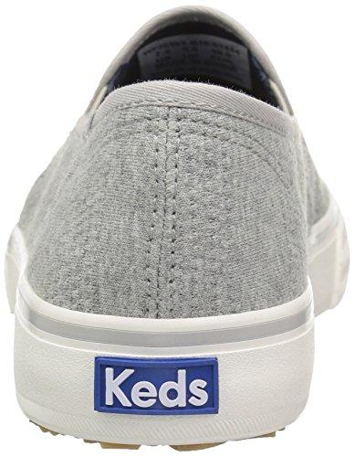 Keds Double Decker Jersey - Zapatillas de casa Mujer Gris