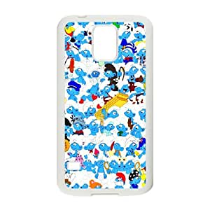 Diy Phone Cover Smurfs for Samsung Galaxy S5 WEQ209792