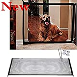 QICI Pet Safety Gate - Magic Gate Portable Folding Safeguard Install Anywhere, Pet Safety Enclosure (1 Pack)