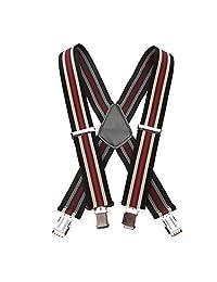 Tirantes de 50 mm de ancho para hombre, 3 estilos, lisos, resistentes, elásticos, Striped