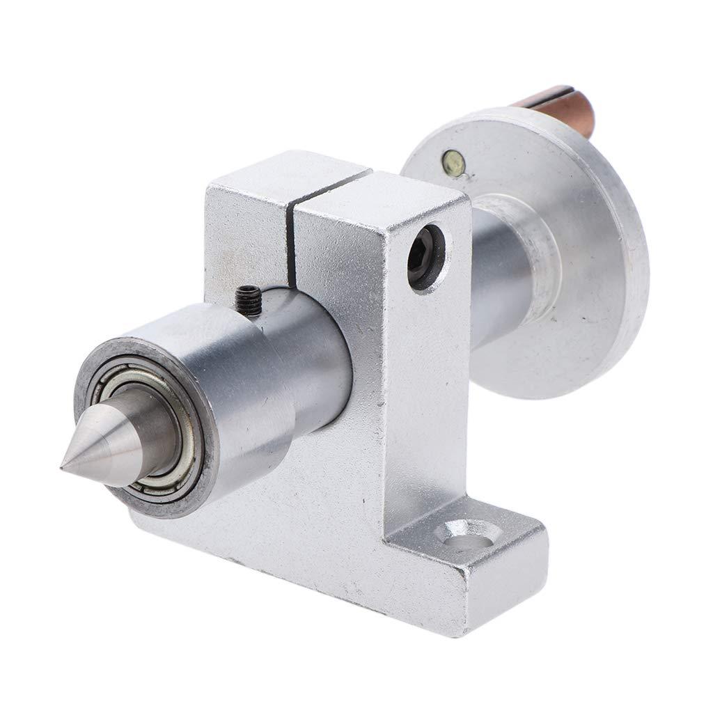 joyMerit 27mm Mini Torno Contrapunto Herramienta Rotativa De La M/áquina De Granos De La Carpinter/ía DIY