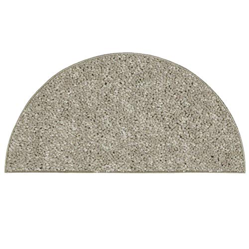 Ambiant Pet Friendly Solid Color Beige Half Round 24