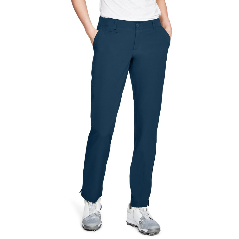 Under Armour Women's Links Pants, Techno Teal (489)/Techno Teal, 8 by Under Armour