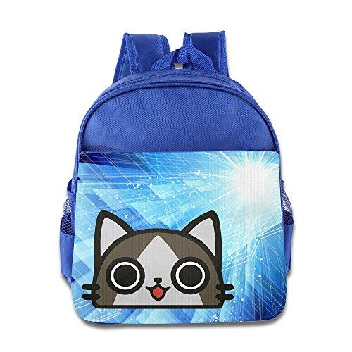 Ghostbusters Costume Diy (KIDDOS Infant Toddler Kids Airou Backpack School Bag, RoyalBlue)
