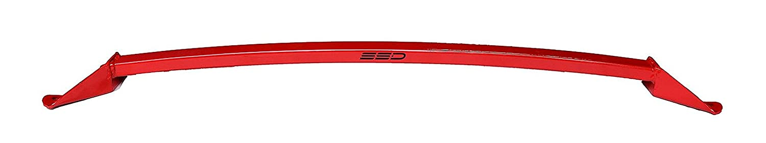 Fits 2015-2016 Subaru Outback 2.5i and 3.6R SSD Performance Strut Tower Brace, All Welded One Piece Design, Red Powder Coat