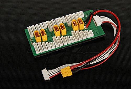 HobbyKing Parallel Charging Board for 6 Packs 2~6S (XT-60)