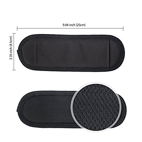 JAKAGO 150cm Universal Adjustable Shoulder Straps Replacement Bag Straps with Metal Swivel Hooks and Non-Slip Pad for Duffel Bag Laptop Briefcase Violin Bag Camera Travel Bag (Black) by JAKAGO (Image #6)