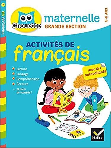 Amazon Fr Francais Grande Section 5 6 Ans Florence