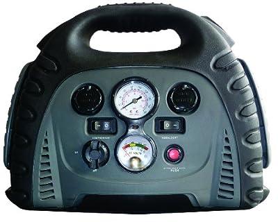 Voltec 10-00460 750-Amp Portable Jump Starter With Compressor & Inverter